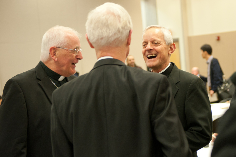 Image result for cardinal wuerl laughing
